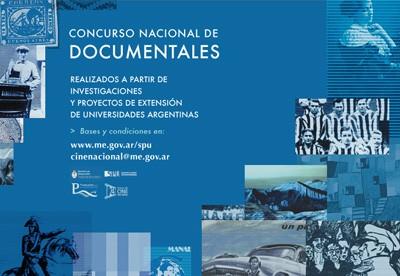 Concurso nacional documentales