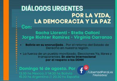 2° Conversatorio: Diálogos urgentes por la vida, la democracia y la paz