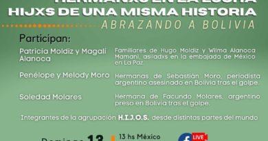 3° Conversatorio | DIÁLOGOS URGENTES~ Hermanxs en la Lucha. Hijxs de una misma historia-Abrazando a Bolivia