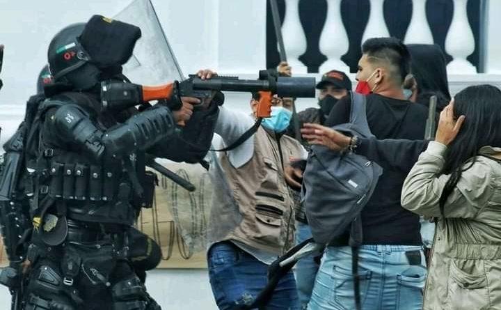 El gobierno de Colombia prepara un nuevo ataque contra su pueblo