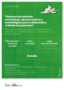 flyer formulación de proyectos