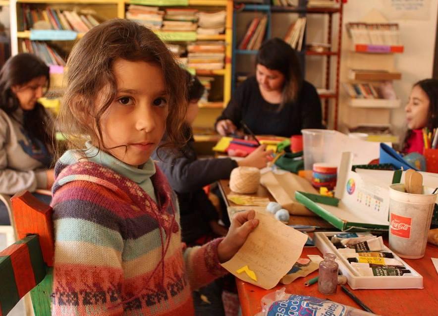 Taller de Libro Objeto es espacio cultural San Martin