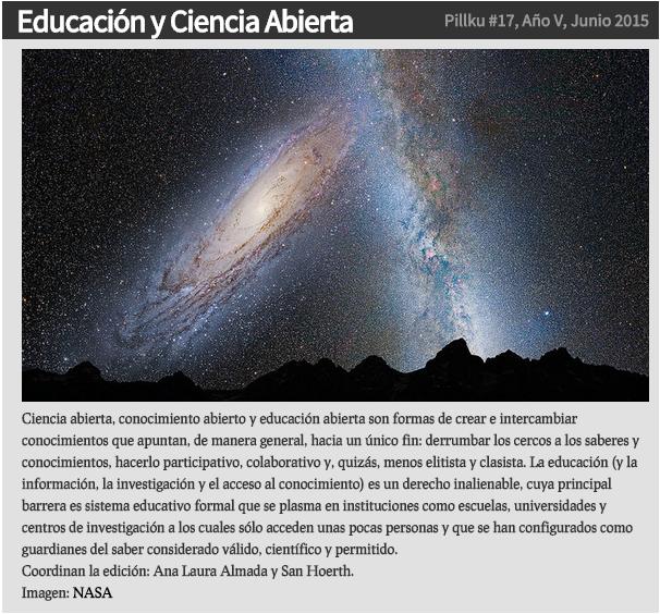 Educacion y ciencia abierta