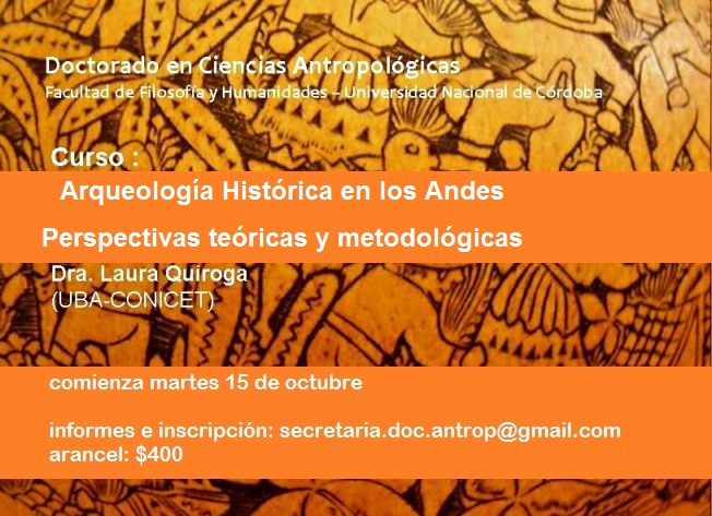 Curso_ARQUEOLOGIA DEL COLONIALISMO ANDES 2