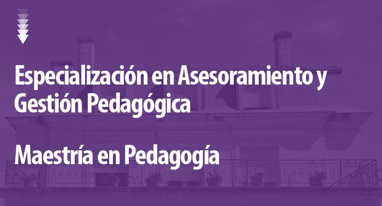 Maestría En Pedagogía Secretaría De Posgrado