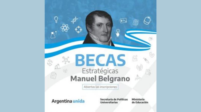 1era Convocatoria 2021: Programa Nacional de Becas Estratégicas Manuel Belgrano