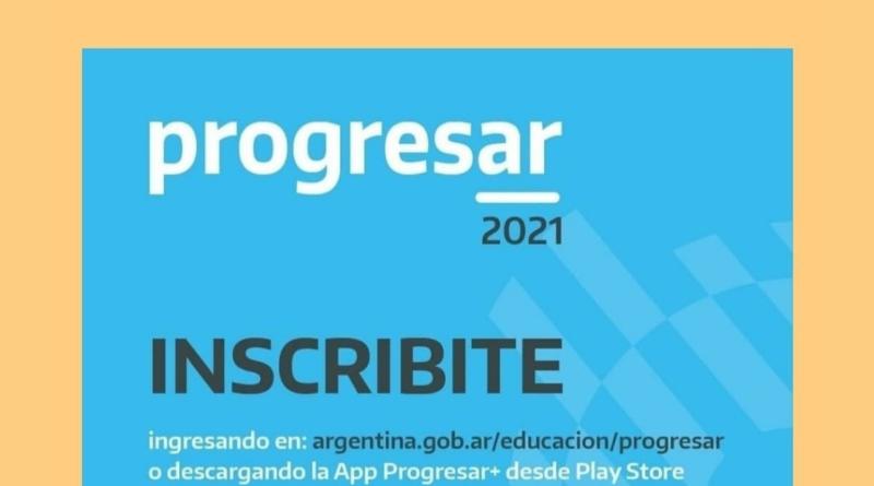 PROGRESAR 2021 inscripciones abiertas