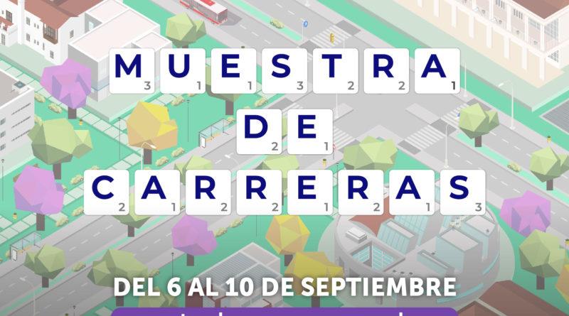 MUESTRA DE CARRERAS – Ingreso 2022