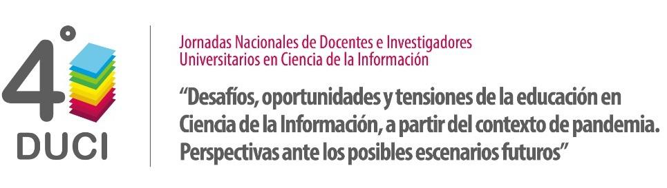 4º Jornadas de Docentes Investigadores en Ciencia de la Información